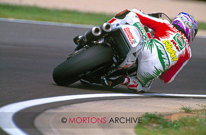 Arron Slight Castrol Honda Albecete WSB 1997 
