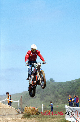British Motocross 250 GP 1978 Gennady Moiseev KTM 007 