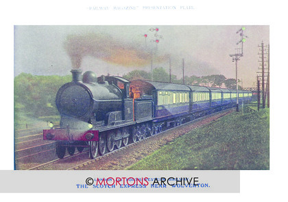 SUPP - L&NWR Scotch Express near Wolverton 