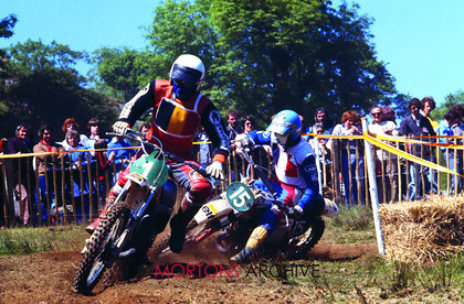 British Motocross 250 GP 1978 Raymond Boven Montesa 1 Patrick Boniface KTM 15 001 