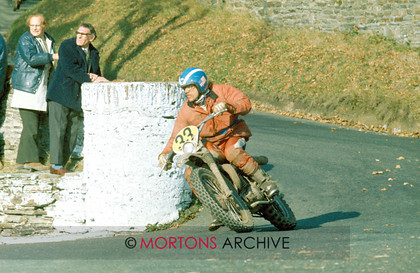 1975 IOM ISDT R.Burleson USA 245 Husquarna Gold 