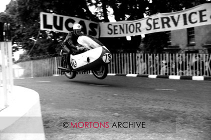 100 - Nick Nicholls Archive - B McIntyne Gilera 1957 Senior TT 