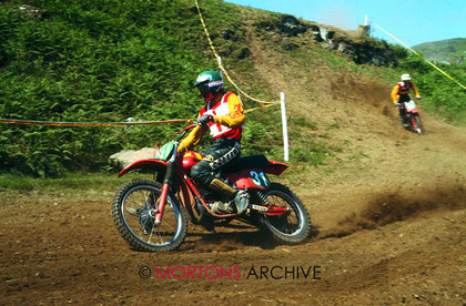 British Motocross 250 GP 1978 Neil Hudson Maico 003 
