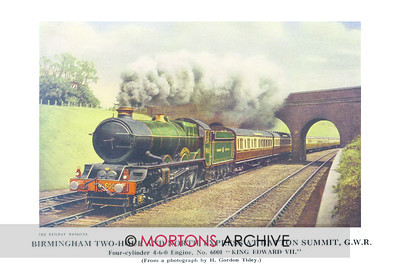 SUP - 1929 July GWR Express 4-6-0 Engine 6001 