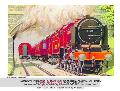 SUP - 1934 Jan LMS Loco 6100 Royal Scot 