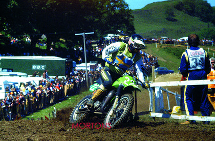 British Motocross 250 GP 1978 Torleif Hansen Kawasaki 007 