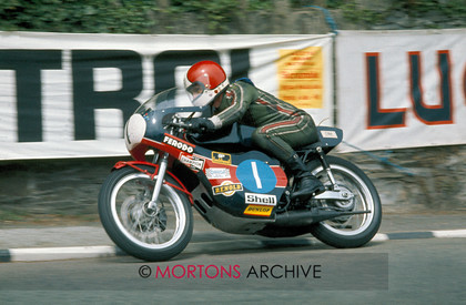 100 - Nick Nicholls Archive - Tony Rutter 1974 350cc IOM TT 