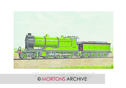 SUPP - LSWR 4-6-0 No330 Green 