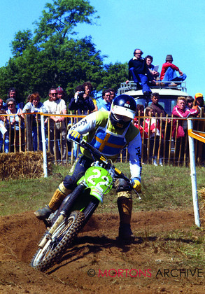 British Motocross 250 GP 1978 Torleif Hansen Kawasaki 006 