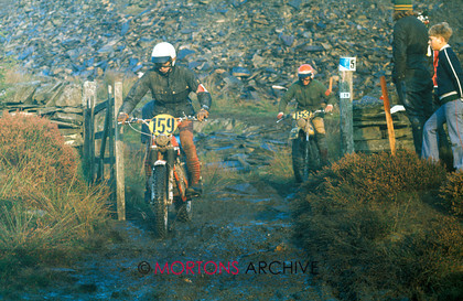 1975 IOM ISDT 6th Day 159 j.Grisse 124 Zundapp Gold 153 J.Kruiper 244 Bultaco Bronze 