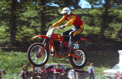 British Motocross 250 GP 1978 Hans Maisch Maico 003 