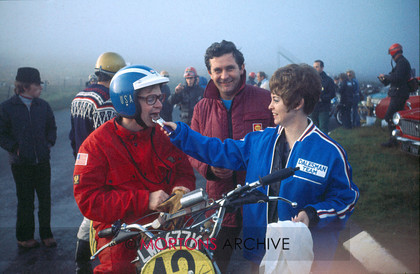 1971 IOM ISDT Early Morning Food L.Grable 125 Dalesman 