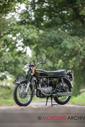 CMM HONDA CB350 1973-4 