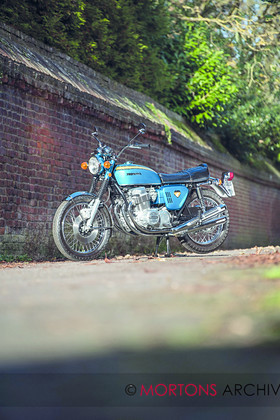 005 CMM Honda CB750 1969 D81 5085003 