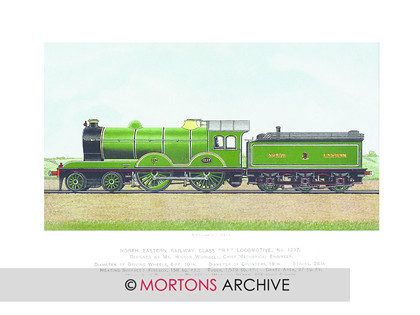 SUPP - NER 4-4-0 No1237 Green 