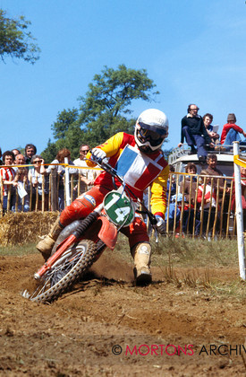 British Motocross 250 GP 1978 Daniel Pean Maico 001 