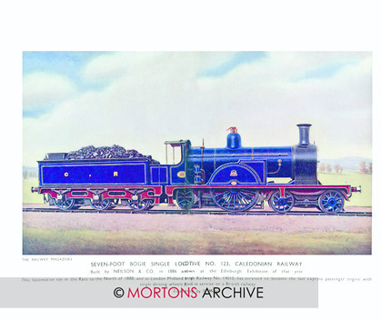SUP - 1933 July Single Loco 123 Caledonian Railway 